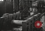 Image of Forging saw blades at Disston Saw works factory Philadelphia Pennsvlvania USA, 1920, second 51 stock footage video 65675063729