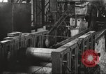 Image of Forging saw blades at Disston Saw works factory Philadelphia Pennsvlvania USA, 1920, second 53 stock footage video 65675063729