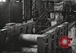 Image of Forging saw blades at Disston Saw works factory Philadelphia Pennsvlvania USA, 1920, second 54 stock footage video 65675063729