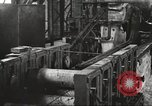Image of Forging saw blades at Disston Saw works factory Philadelphia Pennsvlvania USA, 1920, second 55 stock footage video 65675063729