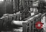Image of Forging saw blades at Disston Saw works factory Philadelphia Pennsvlvania USA, 1920, second 56 stock footage video 65675063729