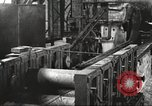 Image of Forging saw blades at Disston Saw works factory Philadelphia Pennsvlvania USA, 1920, second 57 stock footage video 65675063729