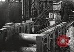 Image of Forging saw blades at Disston Saw works factory Philadelphia Pennsvlvania USA, 1920, second 58 stock footage video 65675063729
