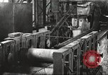 Image of Forging saw blades at Disston Saw works factory Philadelphia Pennsvlvania USA, 1920, second 59 stock footage video 65675063729