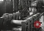 Image of Forging saw blades at Disston Saw works factory Philadelphia Pennsvlvania USA, 1920, second 61 stock footage video 65675063729