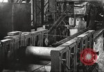 Image of Forging saw blades at Disston Saw works factory Philadelphia Pennsvlvania USA, 1920, second 62 stock footage video 65675063729