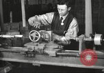 Image of Manufacture of Browning Automatic Rifles in the U.S.A. New Haven Connecticut. United States USA, 1918, second 15 stock footage video 65675063743