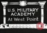 Image of Westpoint Army Cadets New York United States USA, 1914, second 1 stock footage video 65675063748