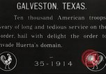 Image of United States troops Galveston Texas USA, 1916, second 1 stock footage video 65675063756