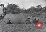 Image of Akeley-Eastman-Pomeroy expedition Kenya Africa, 1927, second 62 stock footage video 65675063758