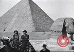 Image of tourists visit Egypt, 1927, second 5 stock footage video 65675063760