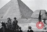 Image of tourists visit Egypt, 1927, second 14 stock footage video 65675063760