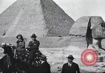 Image of tourists visit Egypt, 1927, second 15 stock footage video 65675063760