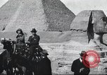 Image of tourists visit Egypt, 1927, second 16 stock footage video 65675063760