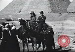 Image of tourists visit Egypt, 1927, second 20 stock footage video 65675063760