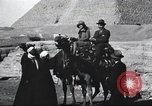 Image of tourists visit Egypt, 1927, second 21 stock footage video 65675063760