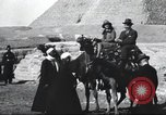Image of tourists visit Egypt, 1927, second 22 stock footage video 65675063760