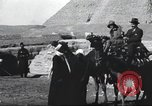 Image of tourists visit Egypt, 1927, second 23 stock footage video 65675063760
