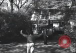 Image of House is moved in two halves New York United States USA, 1940, second 18 stock footage video 65675063764