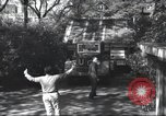 Image of House is moved in two halves New York United States USA, 1940, second 20 stock footage video 65675063764