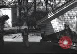 Image of House is moved in two halves New York United States USA, 1940, second 37 stock footage video 65675063764
