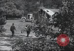 Image of House is moved in two halves New York United States USA, 1940, second 61 stock footage video 65675063764