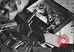 Image of Items in car of Clyde Barrow and Bonnie Parker Arcadia Louisiana USA, 1934, second 9 stock footage video 65675063769