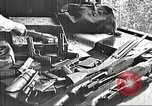 Image of Items in car of Clyde Barrow and Bonnie Parker Arcadia Louisiana USA, 1934, second 13 stock footage video 65675063769