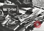 Image of Items in car of Clyde Barrow and Bonnie Parker Arcadia Louisiana USA, 1934, second 15 stock footage video 65675063769