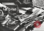 Image of Items in car of Clyde Barrow and Bonnie Parker Arcadia Louisiana USA, 1934, second 16 stock footage video 65675063769