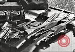 Image of Items in car of Clyde Barrow and Bonnie Parker Arcadia Louisiana USA, 1934, second 19 stock footage video 65675063769