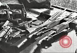 Image of Items in car of Clyde Barrow and Bonnie Parker Arcadia Louisiana USA, 1934, second 20 stock footage video 65675063769