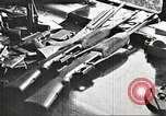 Image of Items in car of Clyde Barrow and Bonnie Parker Arcadia Louisiana USA, 1934, second 23 stock footage video 65675063769