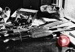 Image of Items in car of Clyde Barrow and Bonnie Parker Arcadia Louisiana USA, 1934, second 35 stock footage video 65675063769