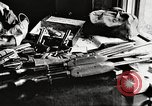 Image of Items in car of Clyde Barrow and Bonnie Parker Arcadia Louisiana USA, 1934, second 36 stock footage video 65675063769
