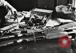 Image of Items in car of Clyde Barrow and Bonnie Parker Arcadia Louisiana USA, 1934, second 39 stock footage video 65675063769