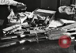 Image of Items in car of Clyde Barrow and Bonnie Parker Arcadia Louisiana USA, 1934, second 40 stock footage video 65675063769