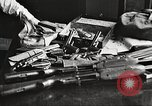 Image of Items in car of Clyde Barrow and Bonnie Parker Arcadia Louisiana USA, 1934, second 41 stock footage video 65675063769