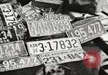 Image of Items in car of Clyde Barrow and Bonnie Parker Arcadia Louisiana USA, 1934, second 44 stock footage video 65675063769
