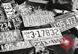 Image of Items in car of Clyde Barrow and Bonnie Parker Arcadia Louisiana USA, 1934, second 45 stock footage video 65675063769