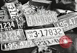 Image of Items in car of Clyde Barrow and Bonnie Parker Arcadia Louisiana USA, 1934, second 46 stock footage video 65675063769