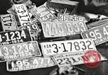 Image of Items in car of Clyde Barrow and Bonnie Parker Arcadia Louisiana USA, 1934, second 47 stock footage video 65675063769