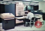 Image of Federal Bureau of Investigation fingerprint analysis Washington DC USA, 1977, second 15 stock footage video 65675063776