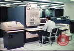 Image of Federal Bureau of Investigation fingerprint analysis Washington DC USA, 1977, second 16 stock footage video 65675063776