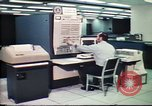 Image of Federal Bureau of Investigation fingerprint analysis Washington DC USA, 1977, second 17 stock footage video 65675063776