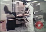 Image of Federal Bureau of Investigation fingerprint analysis Washington DC USA, 1977, second 19 stock footage video 65675063776