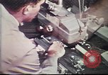 Image of Federal Bureau of Investigation fingerprint analysis Washington DC USA, 1977, second 34 stock footage video 65675063776