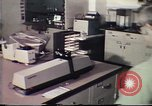 Image of Federal Bureau of Investigation fingerprint analysis Washington DC USA, 1977, second 39 stock footage video 65675063776