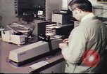 Image of Federal Bureau of Investigation fingerprint analysis Washington DC USA, 1977, second 40 stock footage video 65675063776