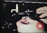 Image of Federal Bureau of Investigation fingerprint analysis Washington DC USA, 1977, second 44 stock footage video 65675063776